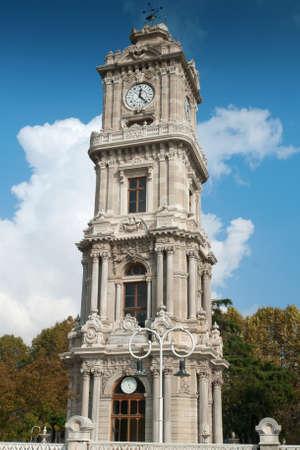 Dolmabahçe Palace Clock Tower photo