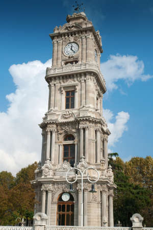 Dolmabahçe Palace Clock Tower photo