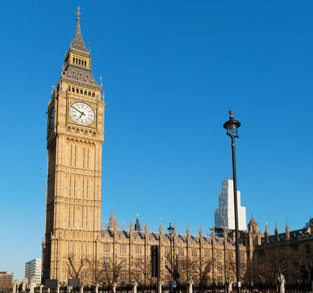 Big Ben - Palace of Westminster, London photo