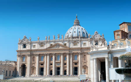 St  Peter s catholic basilica in Vatican, Italy photo