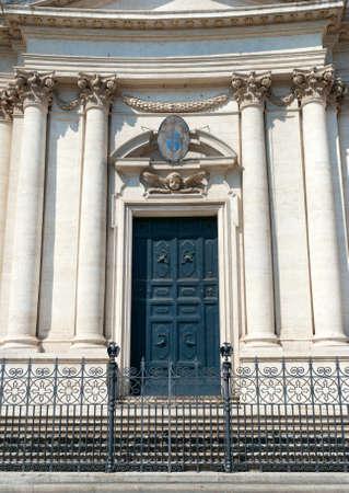 A Beautiful Door in Rome photo