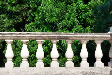 Balustrade in Pity Palace in Florence photo