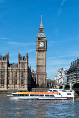 London Big Ben in a sunny day Stock Photo - 25742253