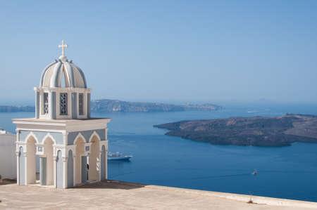 catholic chapel: Catholic chapel in Fira, Santorini, Greece