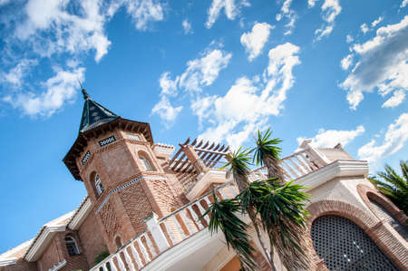 neighbourhood: Photo of a famous neighbourhood in Malaga, Costa Del Sol, Spain