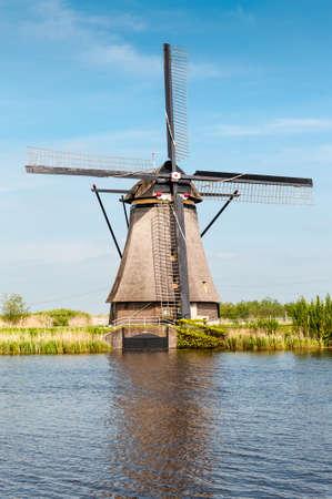Photograph of Windmills in Kinderdijk Holland Imagens