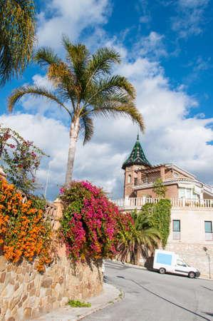 neighbourhood: Vertical photo of a Neighbourhood in Malaga, Costa del Sol, Spain