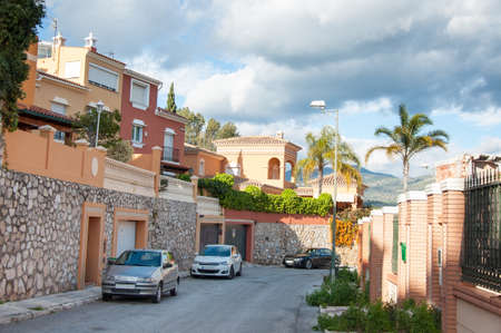 neighbourhood: Horizontal photo of a Neighbourhood in Malaga, Costa del Sol, Spain