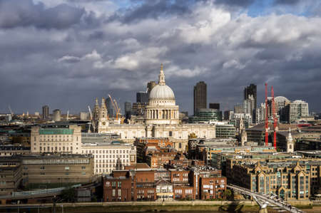 St Pauls Cathedral in the City of London Stock Photo