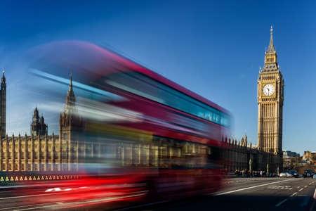 Big Ben in a sunny morning, London, United Kingdom Editorial