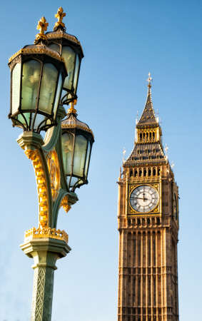 LONDON, UNITED KINGDOM - JANUARY 2: The Elizabeth Tower on January 2, 2015 in London. The Clock Tower, named in tribute to Queen Elizabeth II, more popularly known as Big Ben. Editorial