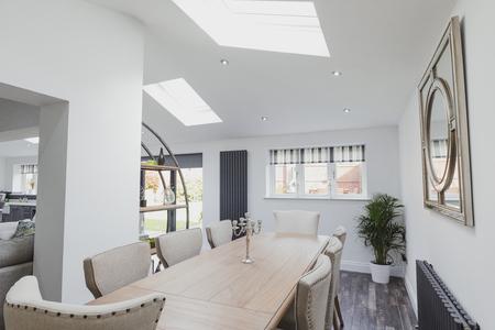 Beautiful, contemporary dining room.