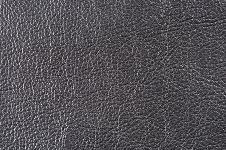 materia prima: Natural cualitativo textura de cuero negro. Cerrar.  Foto de archivo