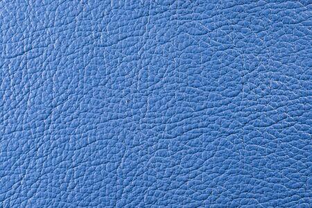 cuero vaca: Natural cualitativo textura de cuero azul. Close up.  Foto de archivo