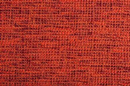 woolen cloth: Qualitative red fabric texture. Abctract background. Close up.