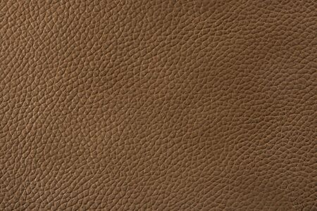 qualitative: Natural qualitative brown leather texture. Close up. Stock Photo