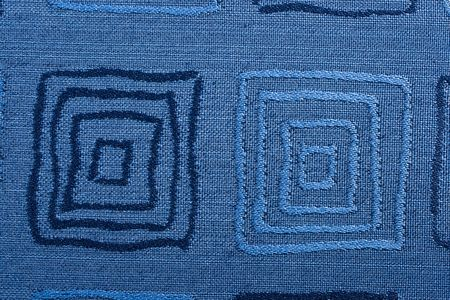 woolen cloth: Qualitative blue fabric texture. Abstract background. Close up.
