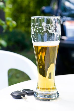 reckless: Drinking and Driving - Car keys and alcohol
