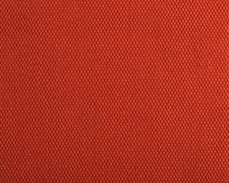 sackcloth: Qualitative red fabric texture. Abstract background. Close up.