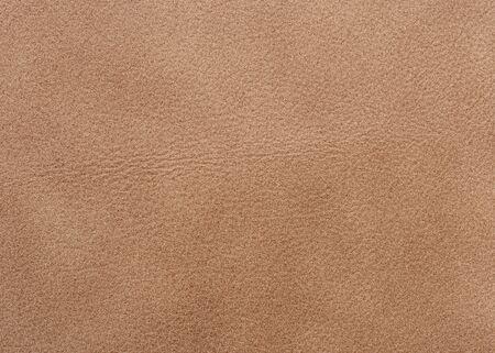 Texture cuir naturel de beige qualitative. Fermer.  Banque d'images