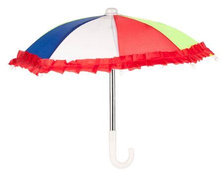 Colorful umbrella on a white background Stock Photo - 7232644