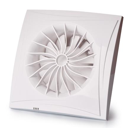 exhaust fan: Air exhaust fan on white background.