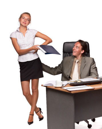 Sexual harassment.