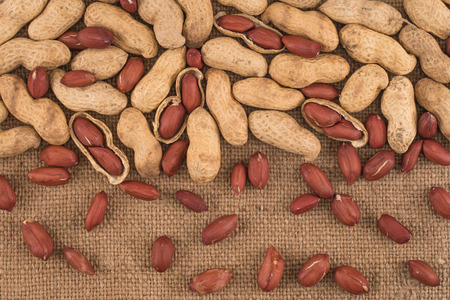 snake bar: Peeled peanut on well peanuts