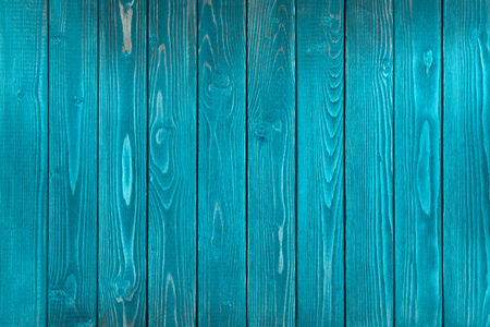 Blue Wooden texture, empty wood background, cracked surface. Old blue wood.