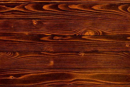 Old Wood Background. Dark brown wooden planks for background. Horizontal direction. Stock fotó