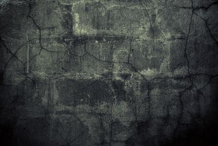 muro rotto: astratto cracking vecchio muro di cemento