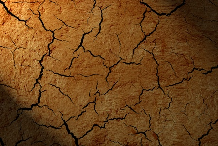 The crack on the wall close-up Stock Photo - 12776715