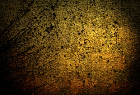 gold brown: abstract background goldish stone wall texture Stock Photo