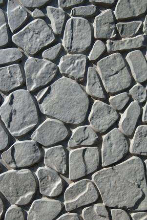 piso piedra: Suelos de baldosa con bloques de cemento rectangulares Foto de archivo