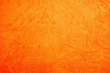 Concrete texture with orange color photo