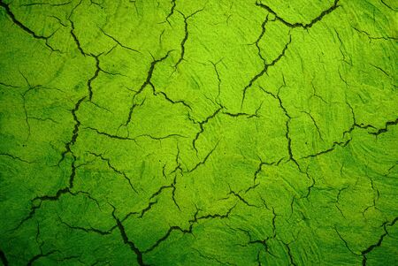 crackle: grunge green texture with crack