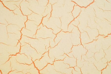 abstract crack isolated on white background