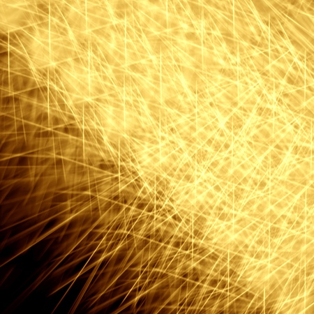 Star burst red and yellow fire on black background Stock Photo - 12891582