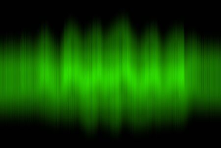 vibrations: Sound waves oscillating on black background Stock Photo