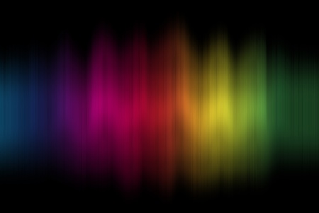 colour intensity:  viewable colours frequencies