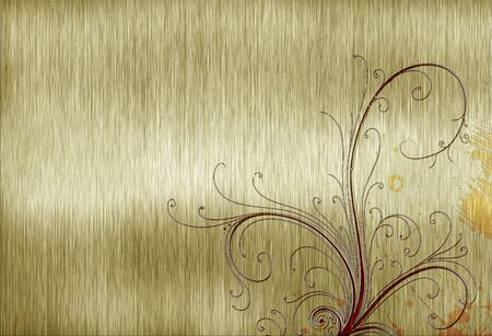 abstract template golden metal texture Stock Photo - 12951540