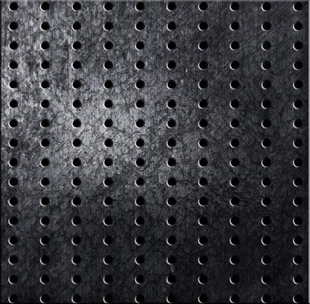 silver rivet aluminum metal texture Stock Photo - 12947885