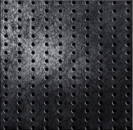 ironworks: silver rivet aluminum metal texture