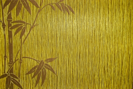 korean culture: bamboo texture