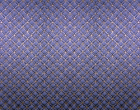 padded: upholstering texture Stock Photo