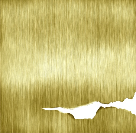 abstract template golden metal texture Stock Photo - 12947891