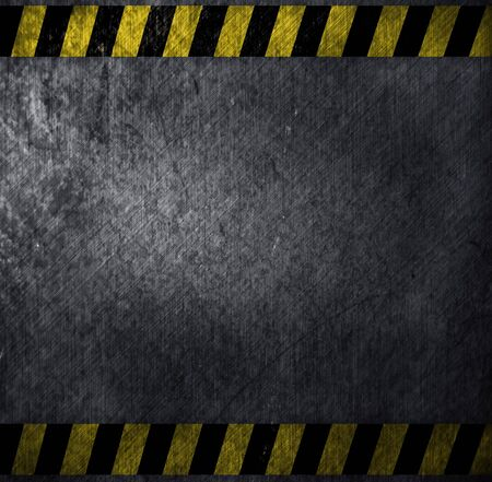 metal warning template for you project photo