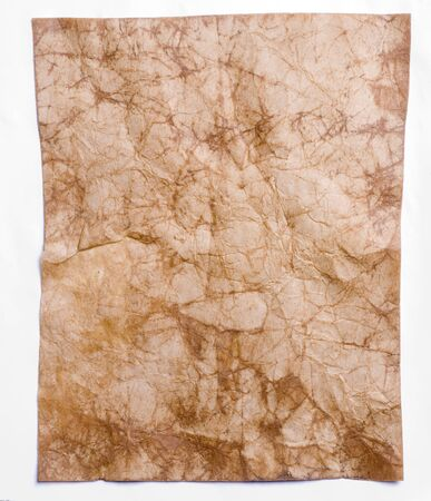Old crumpled paper of close-up Stock Photo - 12951336