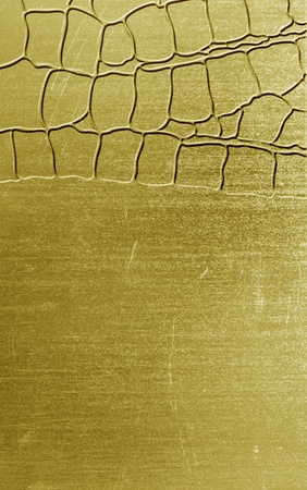 Industrial metal scratched of background  photo