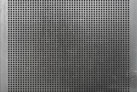 grunge metal of square grid  photo